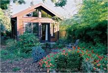 prefabbricato contenitore piccola casa con nuova energia per il cortile
