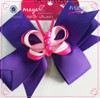 Ribbon Butterfly hair bow hair clips(approved by BV)