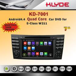 Car DVD Player GPS Navigation in Dash Car Radio Double 2 Din Bluetooth Car PC Stereo Head Unit for W211 W219 W463 2002-2008