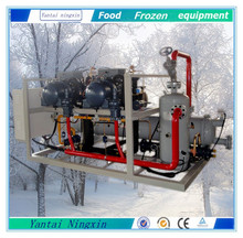 water cooled condensing unit and water cooling tower for freezer room