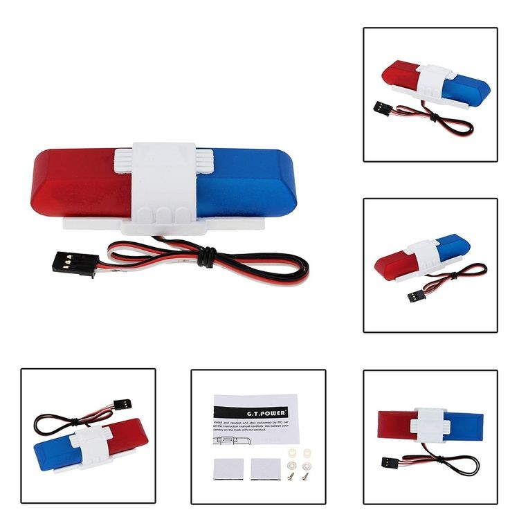 911013-Police Car Lighting and Voice System with 8 Kinds of Flashing Mode for RC Car-2_06.jpg