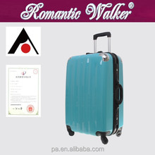 PC, ABS Material lightweight aluminum rod PC+ABS luggage case