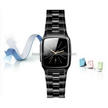 Fashion Bluetooth Stainless Steel touch screen Wrist Watch Phone Support to 32GB