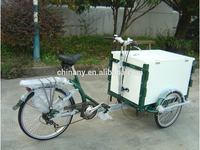 2015 new model sale coffoe ice cream etc. three wheel cargo bike for sale adult tricycle cargo bike