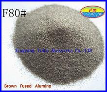 sand blast finishing alumina grit brown