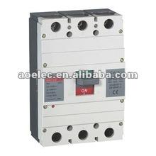 AUM1-630 Moulded Case Circuit Breaker 4 pole MCCB