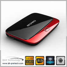 latest design & finely processed DH1-42R 1080P russian internet tv box 3D vedio