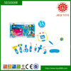 Top selling products 2015 12PCS B/O doctor set toys with light voice and battery plastic toys for kids