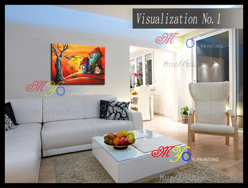 woonkamer foto wanddecoratie