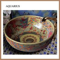 Foshan Aquarius new product ceramic sanitaryware wash basin