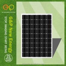 high efficiency best price solar panel for hydro power turbine 150kw