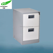 Office 2 drawer small cabinet/outdoor storage cabinet/metal storage cabinet