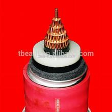 Low to high voltage XLPE electrical power cables 35kv 66kv 110kv 220KV 330KV