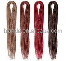 Premium Double Ended Dreadlock, Ombre Dreadlock Hair Extensions, Color Dreads