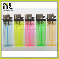 Hot selling OEM plastic refillable flint cigarette disposable manufacturers adult lighters