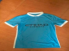 Manchester city home 2015 2016 Player version soccer jersey thailand quality