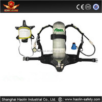 6.8L cylinder positive pressure breathing apparatus high quality