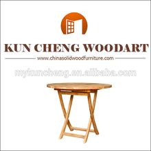 Vintage mesa redonda final/pequeña mesa de café/rústico ronda de café de mármol de mesa
