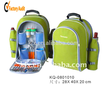 Eco-friendly Polyester Big Capacity Stylish Picnic Bags with Food Sets