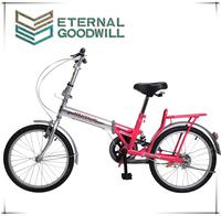 "2015 hot sale20"" inchsingle Suspespeed folding bike/bike for sale/ single speed bike China OEM Two Wheel City Pit Bike For Girls"