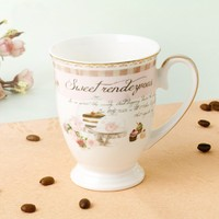 New Style Royal Cup Ceramic Coffee Mug
