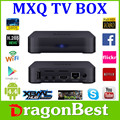 Android 4.4 MXQ TV S805 Quad Core Smart TV Box Mini PC Smart TV Media Player con mando a distancia