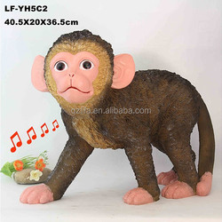 2015 new year home ornament wholesale resin figurines monkey for sale