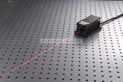 Powerful Lab Lasers 100mw 671nm Red Laser Dot Diode Module + TTL Modulation 0-30KHZ + TEC Cooling + Power Supply LSR-PS-II