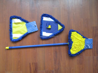 wet and dry microfiber mop for window cleaning
