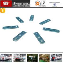zinc coatingiron mild steel sheet metal stamping drilling parts