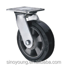 125mm Aluminum core rubber swivel castor