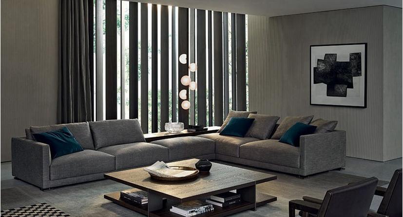 Hot Sale Fabric Sofa Modern Living Room Furniture Sofa Design