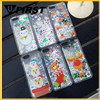 2016 Popular Merry Christmas 3D flowing glitter quicksand liquid cell phone case for iphone 6/6s