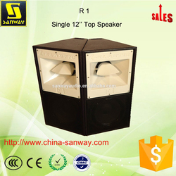 Two Way R1 Single 12'' Line Array Speakers Concert Sound System