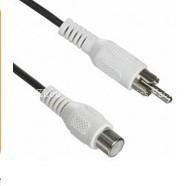 hight quality RCA jack to RCA plug YY-R4011 white
