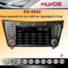 ANDROID 4.4.4 QUAD CORE 16GB 1024*600 MIRROR LINK REAR MONITOR SUPPORT car dvd touch screen gps for qashqai