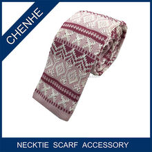Mens Wholesale Flat Silk Knitted Tie To Match Shirts