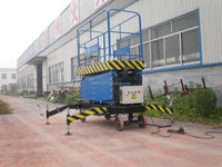 Factoy offered electric new product hydraulic lifting platform best quality for window cleaning
