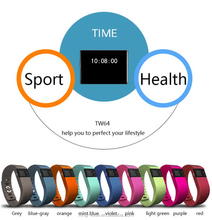 2015 Promotional Cheaper than Xiaomi Mi band TW64 Smartband, Pedometers Fitness Activity Tracker with App