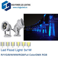 Best Selling Products 3w led flood light outdoor light led garden lamp 3W rgb led spot 12V