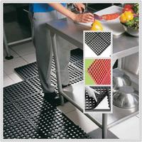 Oil proof Restaurant Antifatigue Mats,Anti-slip kitchen Flooring mat,Easy clean rubber paver