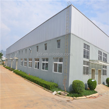 customized design high light prefabricated H section steel frame shed, steel structure workshop