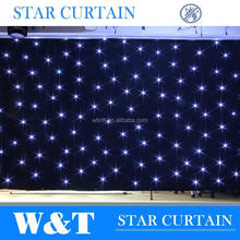 led stage curtains wedding lights with CE certificate