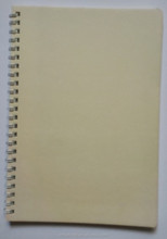wholesale school supply paper cover spiral notebook a5