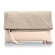 2015 popular fashion elegance OL PU and nylon dual duty handbags for ladies