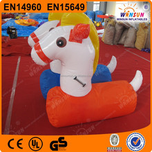 Pony inflatable jumping animal inflatable animal toys for kids