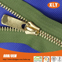 general use charming and fine quality metal zipper