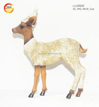 Hot selling resin decorative deer