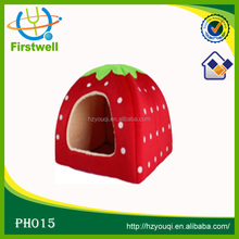Beauty strawberry design dog bed made in china