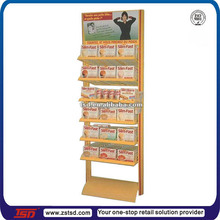TSD-M691 custom made retail floor diet pills display stand,beauty products display shelf,health care product display rack